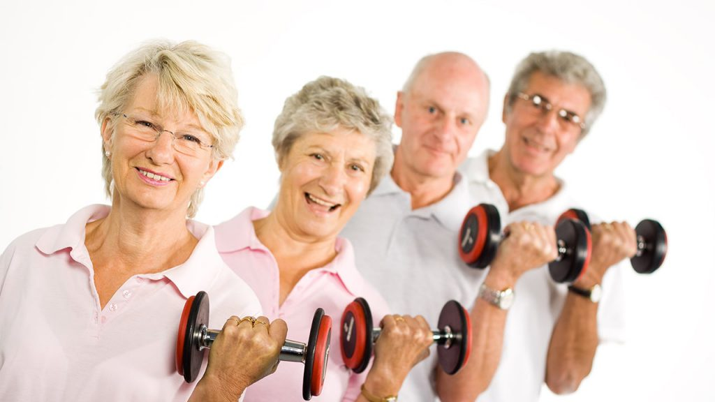 Older Adults: Build Muscle And You'll Live Longer